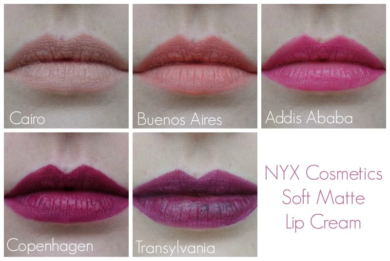 Soft Matte Lip Cream NYX Cosmetics Anverelle