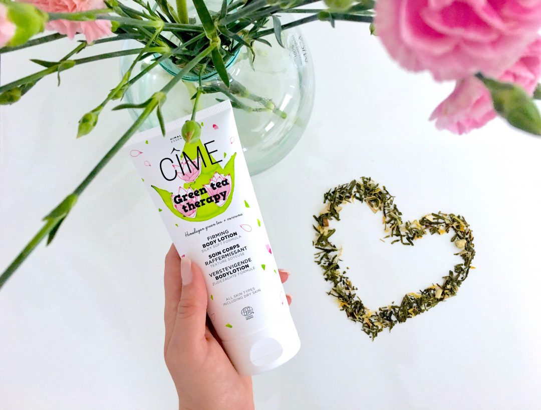 Cîme Green Tea Therapy bodylotion Anverelle Review
